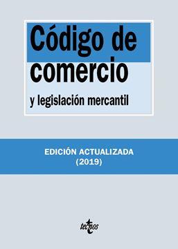 Código de Comercio y legislación mercantil, 36ª ed, 2019
