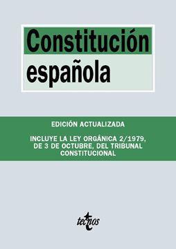 """Constitución Española, 2019 """"Incluye la Ley Orgánica 2/1979, de 3 de Octubre, del Tribunal Constitucional"""""""