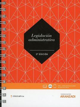 Imagen de Legislación administrativa (LeyItBe), 3ª ed, 2019