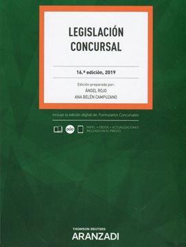 Imagen de Legislación Concursal, 16ª ed, 2019