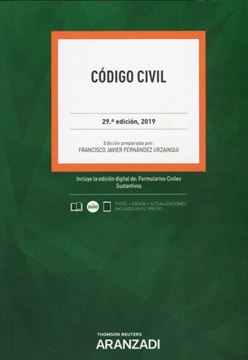 Imagen de Codigo Civil, 29ª ed, 2019