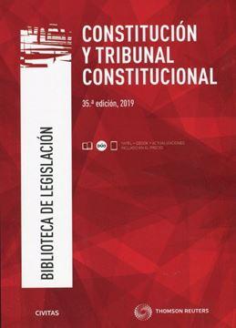Imagen de Constitución y Tribunal Constitucional, 35ª ed, 2019