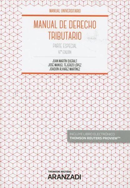 Imagen de Manual de Derecho Tributario. Parte Especial, 16ª ed, 2019