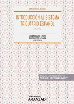 Imagen de Introducción al sistema tributario español, 7ª ed, 2019