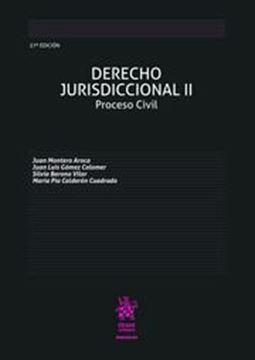 Imagen de Derecho Jurisdiccional II. Proceso Civil, 27ª ed, 2019