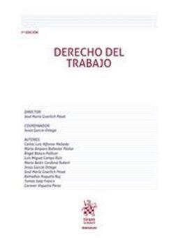 Imagen de Derecho del Trabajo, 7ª ed, 2019