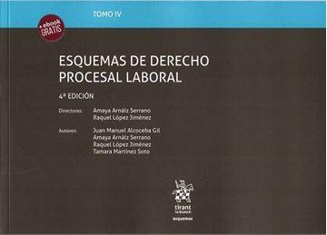 Imagen de Esquemas de Derecho Procesal Laboral 4º ed. 2018