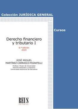 Derecho financiero y tributario I, 6ª ed, 2019