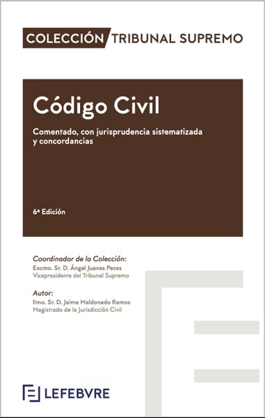 """Imagen de Código Civil Comentado con jurisprudencia sistematizada y concordancias, 6ª Edicion 2019 """"Colección Tribunal Supremo"""""""