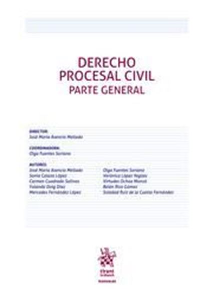 Imagen de Derecho Procesal Civil.  Parte general, ed. 2019