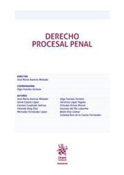 Imagen de Derecho Procesal Penal, ed. 2019