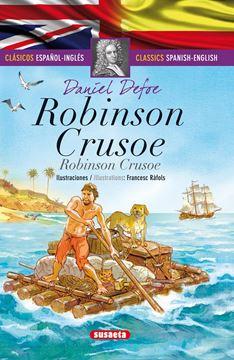 """Robinson Crusoe (español/inglés) """"Clásicos bilingues"""""""