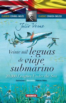 "Veinte mil leguas de viaje submarino (español/inglés) ""Clásicos bilingues"""