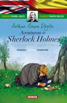 """Aventuras de Sherlock Holmes (español/inglés) """"Clásicos bilingues"""""""