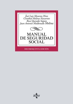 Manual de Seguridad Social, 15ª ed, 2019