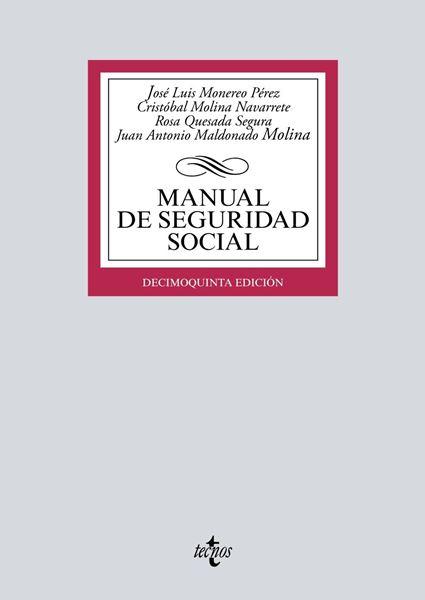 Manual de Seguridad Social, 15ª ed, 2019