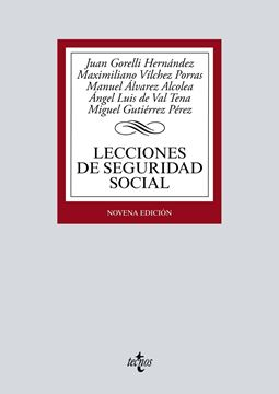 Lecciones de Seguridad Social, 9ª ed, 2019