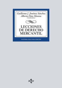 Lecciones de Derecho Mercantil, 22ª ed, 2019