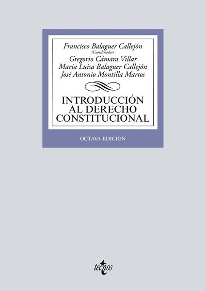 Introducción al Derecho Constitucional, 8ª ed, 2019