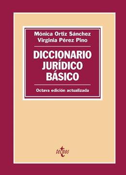 Diccionario jurídico básico, 8ª ed, 2019