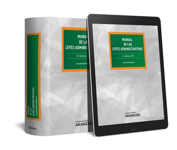 Manual de las Leyes Administrativas (Papel + e-book), 3ª ed, 2019