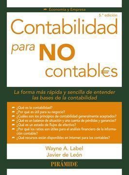 Contabilidad para no contables, 5ª Ed, 2019
