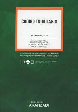 Imagen de Código Tributario, 26ª ed, 2019