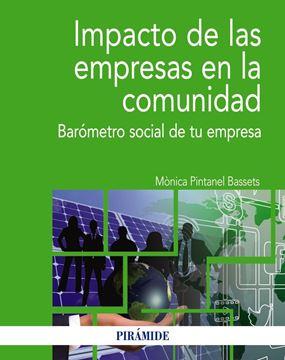 """Impacto de las empresas en la comunidad """"Barómetro social de tu empresa"""""""
