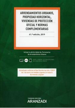Imagen de Arrendamientos urbanos, propiedad horizontal, viviendas de protección oficial y normas complementarias