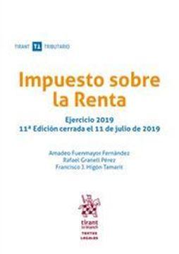"""Imagen de Impuesto sobre la Renta, 11ª ed, 2019 """"Ejercicio 2019"""""""