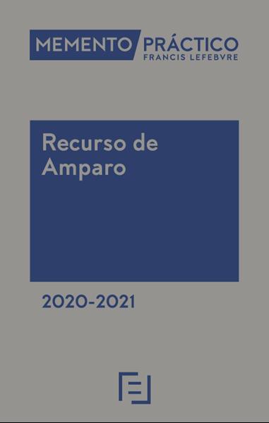 Imagen de Memento Práctico Recurso de Amparo 2020-2021
