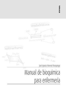 Manual de bioquímica para enfermería