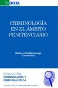 Criminología en el ámbito penitenciario, 2019