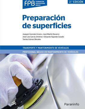 """Preparación de superficies 2.ª edición 2019 """"Transporte y Mantenimiento de Vehículos"""""""
