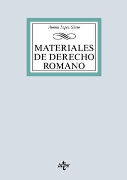 Materiales de Derecho romano, 2019