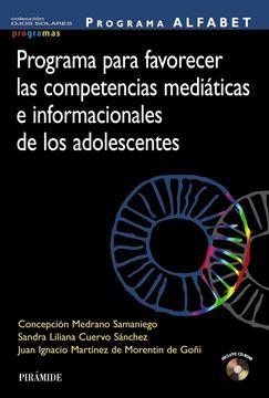 Programa ALFABET. Programa para favorecer las competencias mediáticas e informacionales de los adolescen