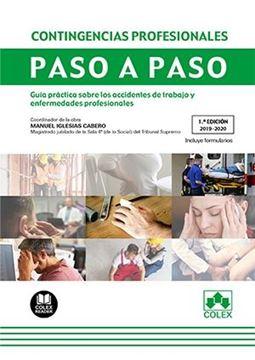 """Contingencias profesionales. Paso a paso, 2019-2020 """"Guía práctica sobre los accidentes de trabajo y enfermedades profesional"""""""