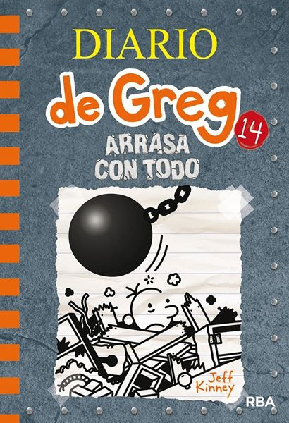 Diario de Greg 14. Arrasa con todo, 2019
