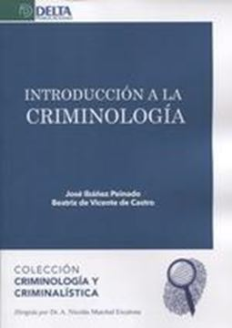 Introducción a la criminología, 2019