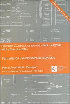 Formulación y evaluación de proyectos 2.ª edición corregida y ampliada 2019