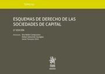 Imagen de Esquemas de derecho de las sociedades de capital, 5ª ed, 2019