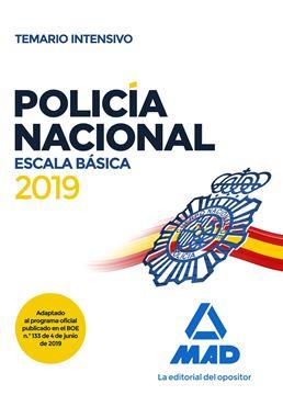 Temario intensivo Policía Nacional Escala Básica, 2019