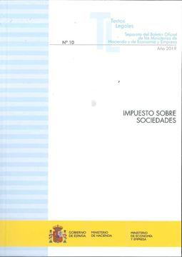 """Impuesto sobre sociedades """"Actualización septiembre 2019"""""""