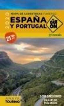 """El Guión. Mapa de Carreteras Turístico España y Portugal, 23ª ed, 2020 """"1:340.000"""""""