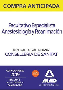 """Pack Facultativo Especialista Anestesiología y Reanimación, 2019-2020 """"Temario común y test. Test comentados de materias específicas"""""""