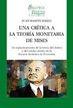 Una crítica a la teoría monetaria de Miese