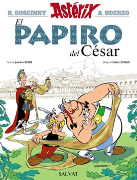 Astérix y  El papiro del César