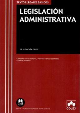 Imagen de Legislación Administrativa. 18º Ed, 2020