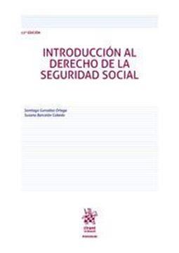 Imagen de Introducción al derecho de la seguridad social, 13ª ed, 2019