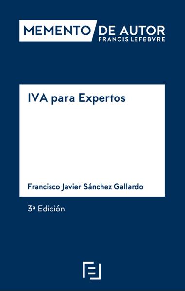 Imagen de Memento de Autor IVA para Expertos 3ª edición 2020